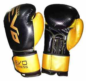 Gants de Boxe de LUXE Noir & OR, punching bag, COMBAT VVV