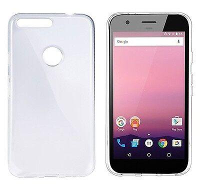 Crystal Skin Tpu Case (Google Pixel Clear Gel Case - FoneM8 Crystal Transparent Flexible Skin TPU Cover)