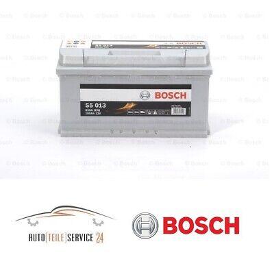 Bosch original Autobatterie S5 013 12V 100Ah 830A Akku Audi A6 Mercedes Fiat VW 24 Volt 100 Amp