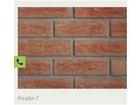 Brick slips 7mm: wetherby parador brick slips