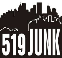 519 JUNK REMOVAL London Ontario 519-872-6667