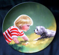 Zolan, Children and Pets Collection - Collector's Plates