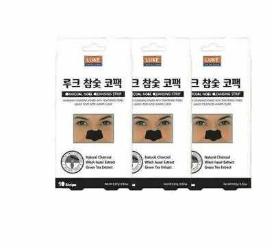 3PCS LUKE Charcoal Nose Cleansing Strips Packs Skin Care Patch Type_UE