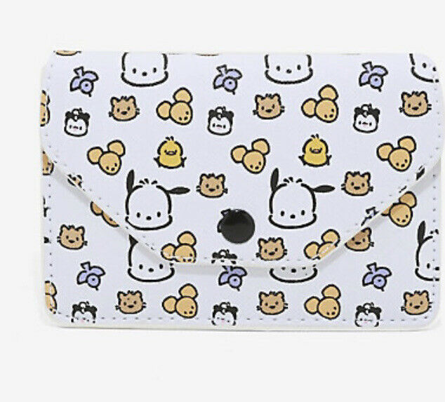 Loungefly Sanrio Pochacco & Friends Cardholder Wallet New