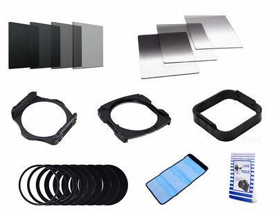 21-teiliges Verlaufsfilter Set Farbfilter ND Square Filter Cokin P Filterhalter
