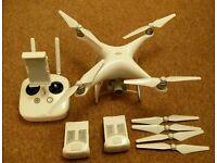 DJI Phantom 4 drone with second battery