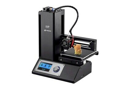 Monoprice Select Mini V2 3D Printer Including Reel Of Grey Filament