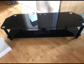 Glass tv unit for sale cheap