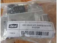 IDEAL BOILER Gas Valve Kit 170913 is a new boiler spare part, unopened.