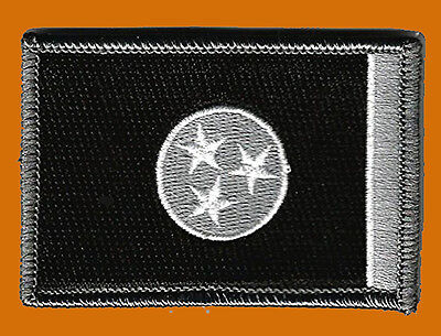 TENNESSEE STATE TN FLAG TACTICAL MORALE ACU BLK HOOK PATCH (MTT2)
