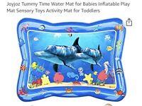 Joyjoz tummy time water mat for babies