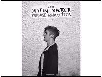 Justin Bieber Ticket