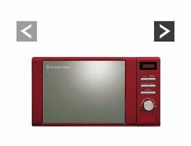 Russle Hobb 800 watt microwave