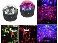 Mini disco LED lights x 2 BRAND NEW