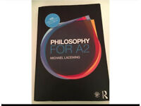 A Level A2 Philosophy textbook AQA