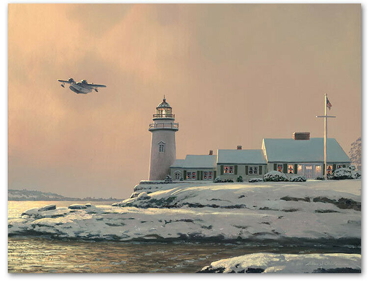 Afternoon Departure - By William S. Phillips - Grumman Goose - $395.00