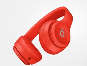 Beats solo wireless (by Dr.Dre) red headphones