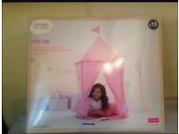 Indoor outdoor play tent girls