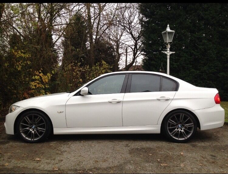 Bmw 3 Series White M Sport 2010 Not 1series A4 A3 S