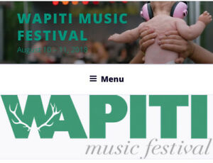Wapiti Music Festival 2018 3 Adult Weekend Pass
