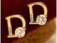 Earrings D free gift gift sets available