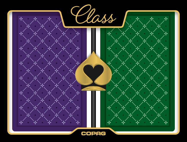 New COPAG 100% Plastic Playing Cards CLASS STANDARD - New Style Bridge Jumbo Ind