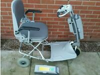 Aqua Soouthe travel lite mobility scooter!untested! no charger to it!