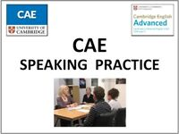 FREE CAE Speaking training/practice with qualified teacher (Cambridge Advanced English exam)