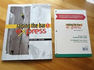 Raising the bar 5 express - secondary 5 My eLab