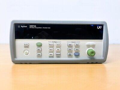 Keysight Agilent 34972a Data Acquisition Switch Unit