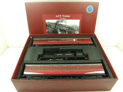 Ace Trains O Gauge E25/S-C British Railways G5 Tank Loco & Coaches Set for sale  Shipping to Ireland