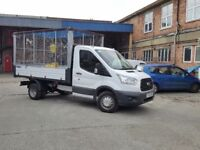 MAN AND VAN ALL DOMESTIC RUBBISH AND COMMERCIAL WASTE REMOVED FULL CLEARANCES TO SINGLE ITEMS .