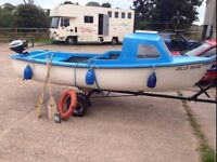 14ft Cuddy Boat for sale