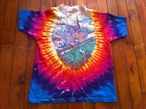 VINTAGE-1994-GRATEFUL-DEAD-PSYCHEDELIC-SUMMER-TOUR-CONCERT-SHIRT