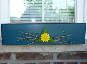 3 wooden window boxes ... NEW .. As shown ..