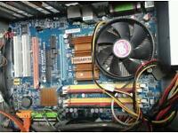 Intel core 2 desktop pc sli mobo 2gb