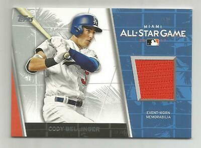 2017 TOPPS UPDATE CODY BELLINGER ALL-STAR GAME JERSEY RELIC