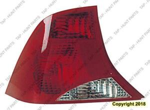 Tail Light Driver Side Ford Focus 2003-2004