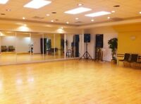 Dance Studios space for rent