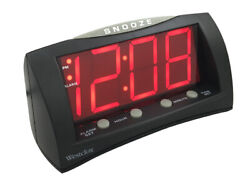 Westclox 66705A Extra Large LED Display Alarm Clock