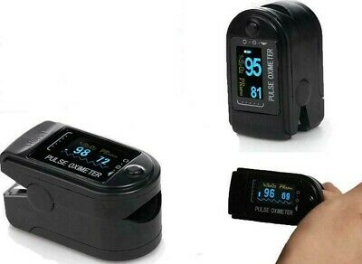 Contec Fda Approved Finger Pulse Oximeter Color Oled Spo2 Heart Rate Free Case