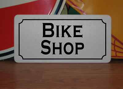 BIKE SHOP Sign 4 Texas Motorcycle Garage Cycle Riding Club Shop Track Man Cave
