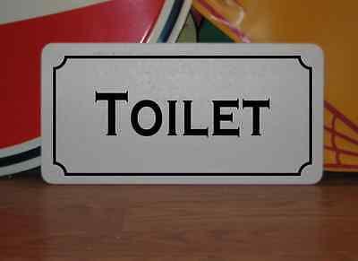TOILET Metal Sign vintage style 4 Theater Home Bar Mens Ladies Restroom