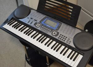 Casio keyboard CTK-651 adjustable stand and seat