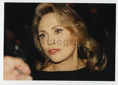 Faye Dunaway   Vintage Candid Snapshot Photograph By Peter Warrack