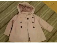 3-4 year old Next pink warm winter coat