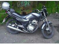 Lerner legal 125 cc motorbike. MOT till mid march