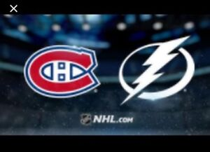 **SUPER TICKETS...MONTREAL CANADIENS AT TAMPA BAY LIGHTENING!!
