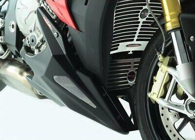 BMW S1000R 14-20/S1000XR 15-19 GLOSS BLACK-SILVER MESH BELLY PAN POWERBRONZE