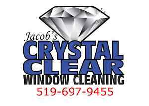 Jacob's Crystal Clear Window Cleaning Service 519-697-9455 London Ontario image 1